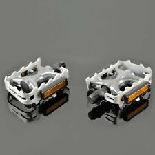 """Wellgo LU-964 MTB Alloy Pedals 9/16"""" , Silver"""