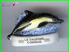 "Feve Les Mammifères Marin Edition Atlas "" Le Dauphin Commun ""  #B60"
