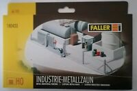 Faller - HO Gauge - 180433 - Metal Industrial Fencing - Industrie-Metallzaun