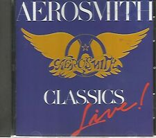 AEROSMITH - Classics Live!  - CD - Acceptable Condition