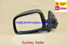 NEW DOOR MIRROR FOR HOLDEN RODEO RA 2003-2008 LEFT SIDE (BLACK, MANUAL)