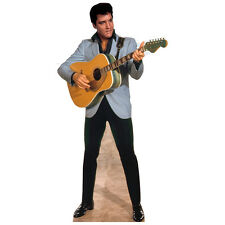 ELVIS PRESLEY Plays Guitar CARDBOARD CUTOUT Standee Standup Poster FREE SHIPPING
