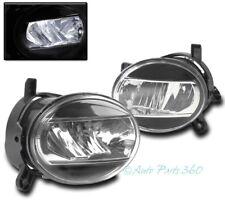 09-12 AUDI A4 B8 BUMPER DRIVING LED FOG LIGHTS LAMP BLACK/CHROME REPLACEMENT NEW