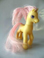 Figurine jouet fille My little Pony 11 cm HASBRO toys 1997 jaune rose 20