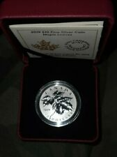 Silber 31.g 1 Unze Kanada  10 Dollars 2019  Red Maple Royal Canadian Mint