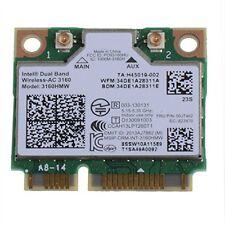 Intel AC 3160HMW 2.4//5GHz+Bluetooth4.0 Mini PCI E Wi-Fi Card 433M