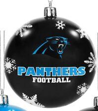 NFL Carolina Panthers Football Américain Arbre De Noël Babiole Noir