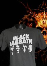 NEW!! BLACK SABBATH  PUNK ROCK GREY T SHIRT MEN'S SIZES