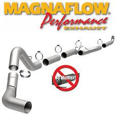 01-07 GMC Chevy Duramax 6.6L Diesel 5 INCH Magnaflow Turbo Back Exhaust System