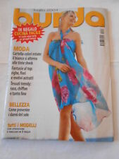 rivista moda-BURDA- n.7 luglio 2004 - completa di cartamodello