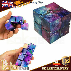 Sensory Infinity Cube Stress Fidget Toys Autism Anxiety Relief Adults Kids Gift