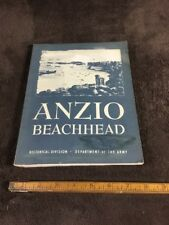 Anzio Beachhead American Forces In Action Series 1944; Department Of The Army