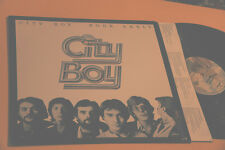 CITY BOY LP BOOK EARLY ORIG USA 1978 EX+