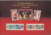 GB QEII 1986 60th Birthday Presentation Booklet J2231