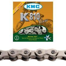 """KMC K810 BMX Bike Chain 1/2"""" x 3/32"""" 112 Links Silver"""
