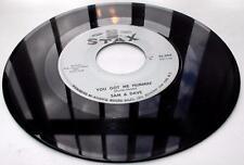 Sam And Dave You Got Me Hummin' b Sleep Good Tonight '67 Stax 204 Soul 45rpm VG+