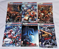 GI JOE Transformers COMICS Action Figure Vintage Books 6 Issues LOT