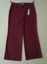 Wide Leg Viscose High 30L Trousers for Women