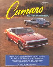 Camaro Restoration Handbook-Ground-Up & Sectional~tips & techniques~NEW!