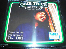 Obie Trice The Set Up (You Don't Know) Feat Nate Dogg Rare Aust CD Single