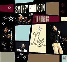 `ROBINSON,SMOKEY&MIRA`-THE LIVE! COLLECTION CD NEW