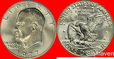 1977 P Eisenhower Dollar Choice/Gem Bu from mint sets No Reserve