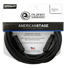 Planet Waves Daddario PW-AMSM-25 American Stage Microphone Cables 25 ft