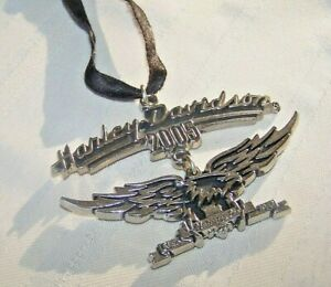 HARLEY DAVIDSON 2005 DOUBLE EAGLE 2 PIECE HANGING ORNAMENT
