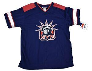 NHL Youth Boys New York Rangers Jersey Shirt NWT S(8), M(12-14), XL(20)