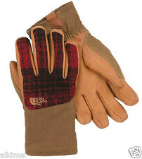 New The North Face Special Edition Denali SE Ski Wool Dachshund Brown Gloves L