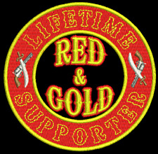 Lifetime Supporter Bandidos Round Patch