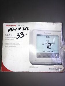 HONEYWELL T6 PRO PROGRAMMABLE THERMOSTAT TH6210U2001 New In Box