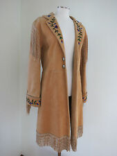 CALAMITY CASSEY COAT FROCK  RARE ONE OF A KIND HAND BEADED SEE TO BELIEVE