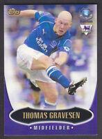 Topps Premier Gold 2003 - Card # E2 - Thomas Gravesen - Everton