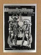 ThunderMace The Telling of the Legend Book One TPB (R.A.K. Graphics 1989) VF/NM