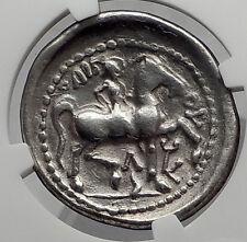 Celtic Eastern Europe Silver TetraDrachm as Greek Philip II Coin NGC VF i61201