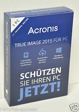 Acronis True Image 2015 For PC TIHVB2DES - German / Deutsch Version