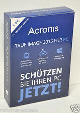 Acronis True Image 2015 For PC TIHVB2DES - German / Deutsch Version