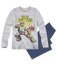 Ninja Turtles Pyjama Schlafanzug lang grau/blau Gr.128