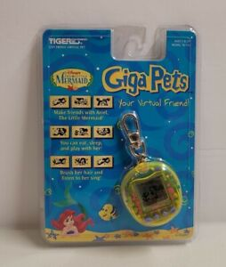 Giga Pet The Little Mermaid Virtual Friend Vintage 1997 New Tamagotchi Sealed