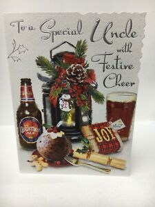Special Uncle Christmas Greeting Card