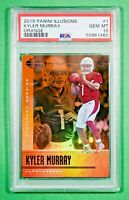 2019 Panini Illusions #1 Kyler Murray ORANGE SP Rookie PSA 10 Gem Mint 🏦 Pop 7