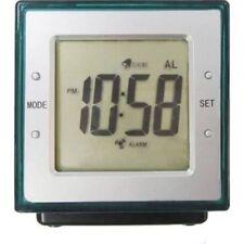 H2O Water Powered Alarm Clock Large LCD Display Sterling & Noble Parakeet Green