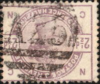 GB used in MALTA - 1883-84 - 2-1/2d lilac SG Z101 - VFU