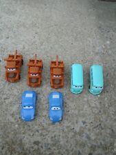 Lot of 7 Disney Pixar cars  from the movie cars 2006 VGC FREE SHIPPG