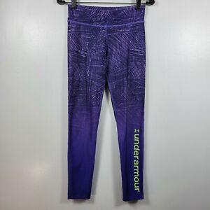 Under Armour Women's Cold Gear Legging Pants -Purple SZ L