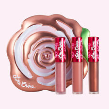 Lime Crime Velve-Tins - Set of 3 Mini Velvetines in a Collectable Tin