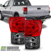 For Red Smoke 2007-2013 Toyota Tundra Tail Brake Lights Aftermarket Left+Right