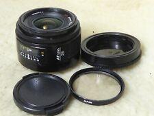 SONY MINOLTA 28mm F 2.8 SONY FULL FRAME A MOUNT AF LENS + filter + cap