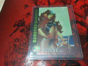 MARVEL X-MEN FLEER ULTRA card nr 97 ROGUE HAUNTED MANSION  signed ADAM KUBER